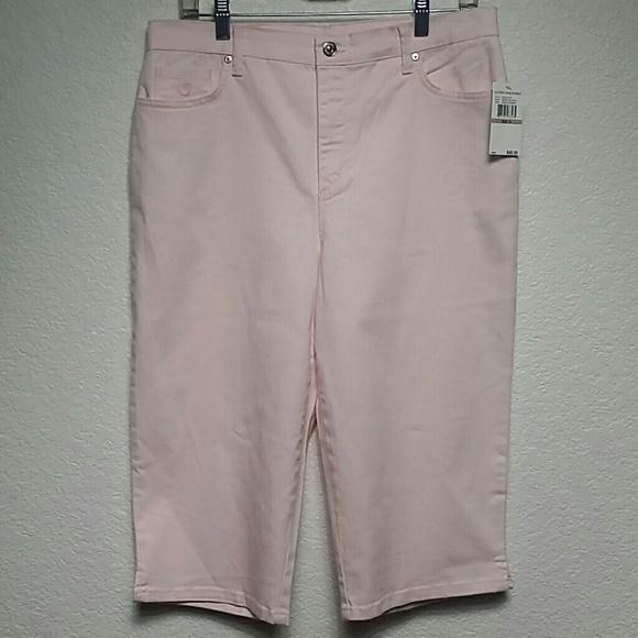 Gloria Vanderbilt Pants - Gloria Vanderbilt Pink Amanda Skimmer Missy 12 NWT